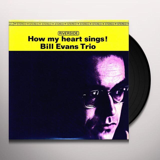 Bill Evans HOW MY HEART SINGS Vinyl Record