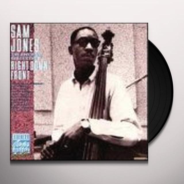 Sam Jones RIGHT DOWN FRONT Vinyl Record