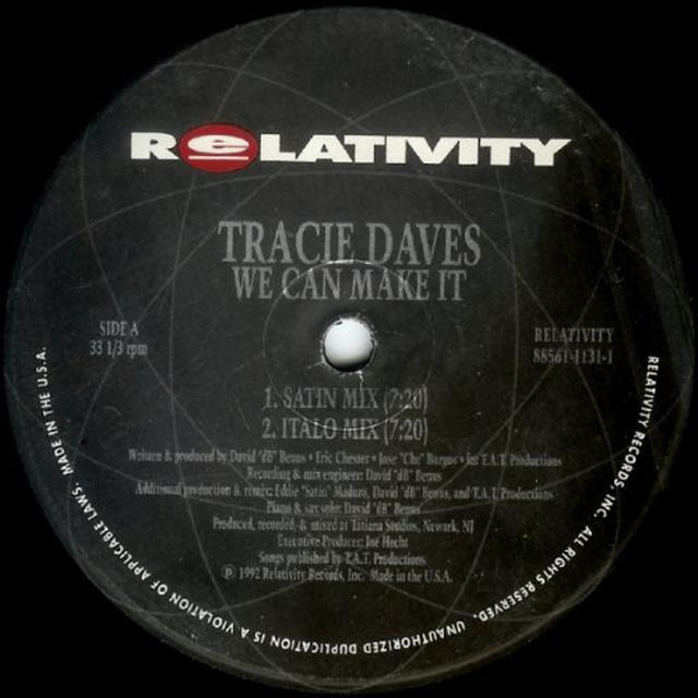 Tracie Daves WE CAN MAKE IT Vinyl Record