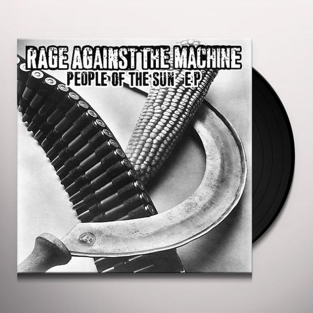 Rage Against The Machine PEOPLE OF SUN (EP) Vinyl Record