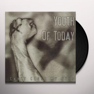 Youth of Today CAN'T CLOSE MY EYES Vinyl Record