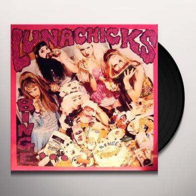 Lunachicks BINGE & BURGE Vinyl Record
