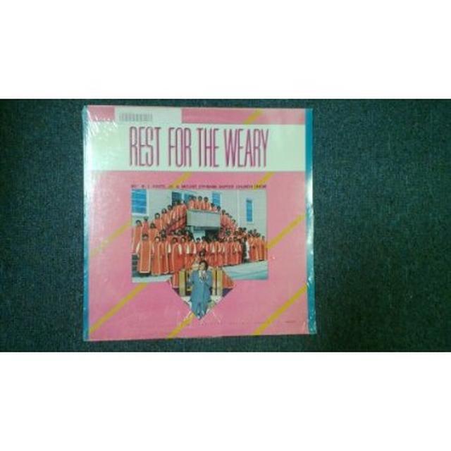 Rev R.L. White REST FOR THE WEARY (Vinyl)