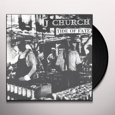 J Church TIDE OF FATE (EP) Vinyl Record