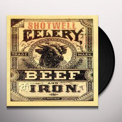 "Shotwell CELERY BEEF & IRON (10"") Vinyl Record"