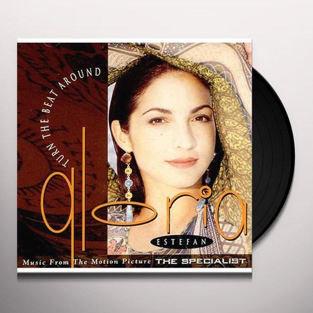 Gloria Estefan TURN THE BEAT AROUND (X4) Vinyl Record