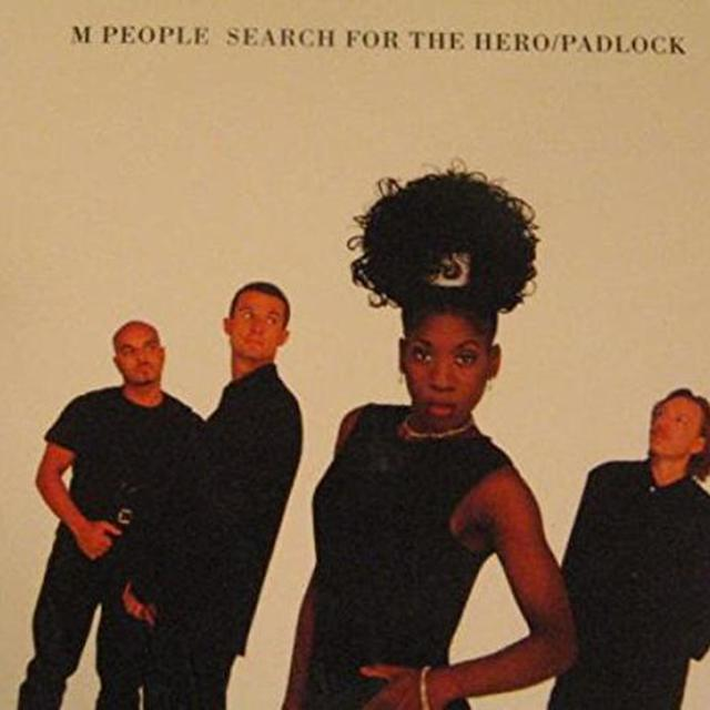 M People PADLOCK (X4) / SEARCH FOR THE HERO Vinyl Record