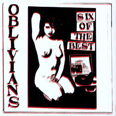 Oblivians SIX OF THE BEST Vinyl Record