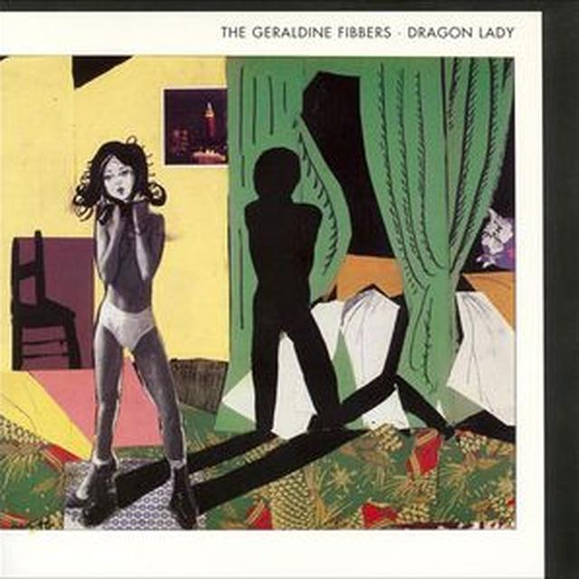 Geraldine Fibbers DRAGON LADY Vinyl Record