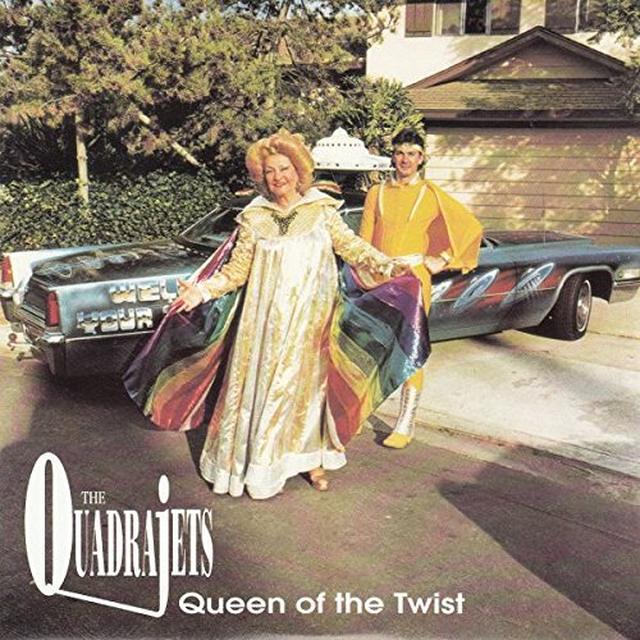 Quadrajets QUEEN OF THE TWIST (EP) Vinyl Record