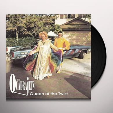Quadrajets QUEEN OF THE TWIST (EP) Vinyl Record