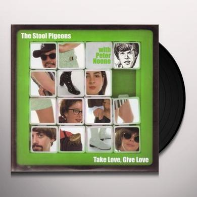 Stool Pigeons TAKE LOVE GIVE LOVE / POPSICLES & ICICLES Vinyl Record