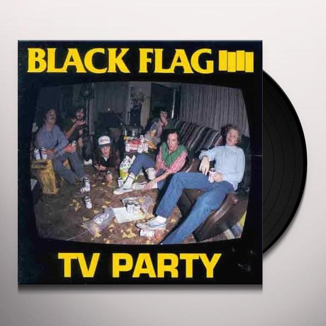 Black Flag TV PARTY Vinyl Record