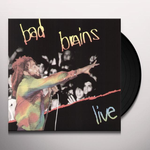 Bad Brains LIVE Vinyl Record