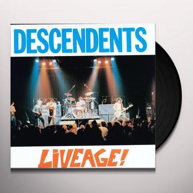 Descendents LIVEAGE Vinyl Record