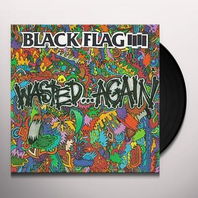 Black Flag WASTED AGAIN Vinyl Record