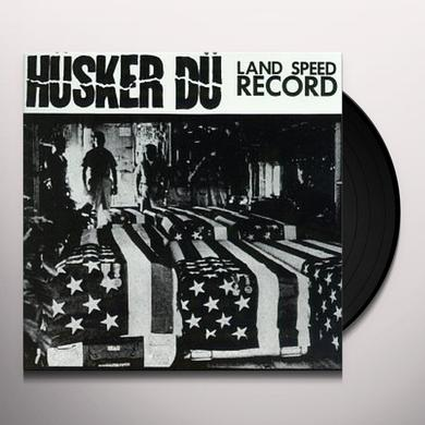 Hüsker Dü LAND SPEED RECORD Vinyl Record