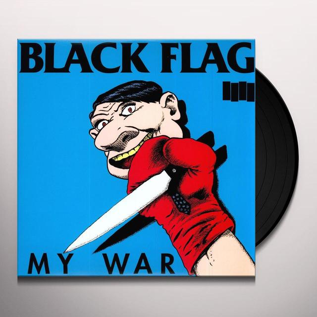 Black Flag MY WAR Vinyl Record