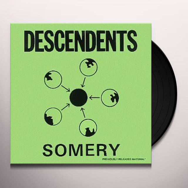 Descendents SOMERY Vinyl Record