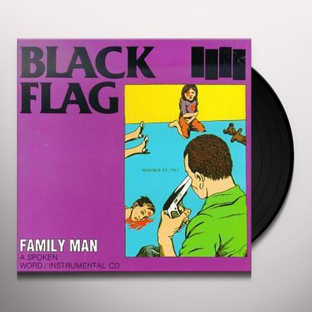 Black Flag FAMILY MAN Vinyl Record