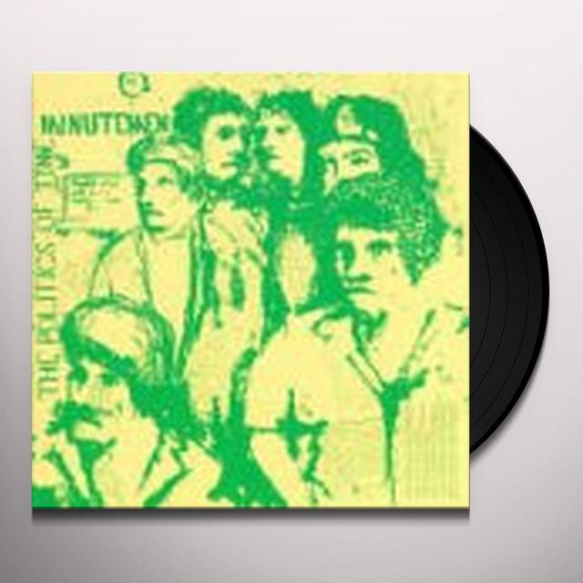 Minutemen POLITICS OF TIME Vinyl Record