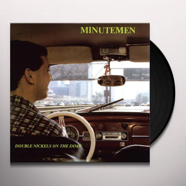 Minutemen DOUBLE NICKELS ON THE DIME Vinyl Record