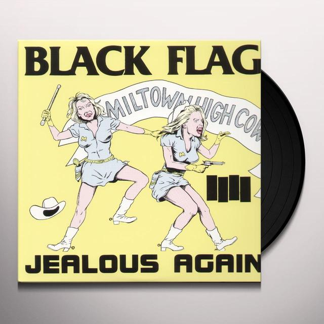 Black Flag JEALOUS AGAIN Vinyl Record