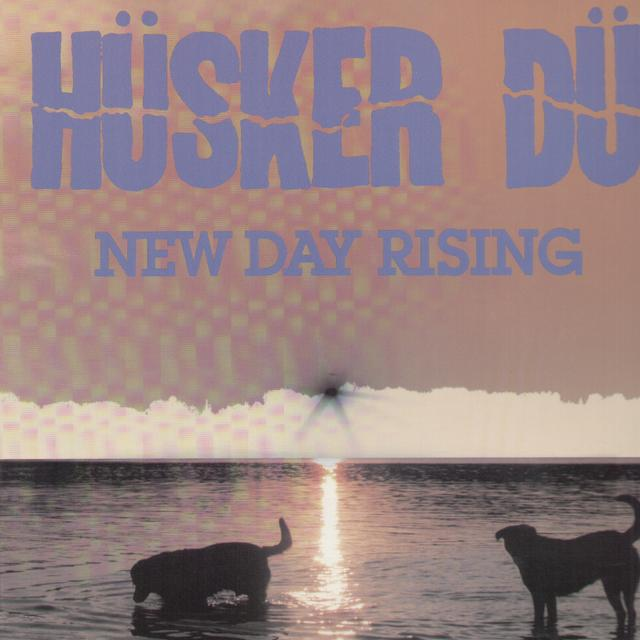 Hüsker Dü NEW DAY RISING Vinyl Record
