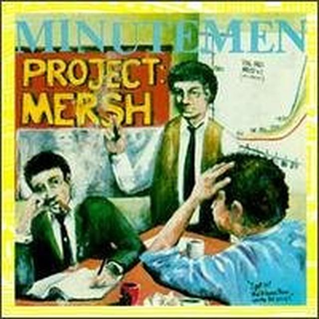 Minutemen PROJECT MERSH Vinyl Record