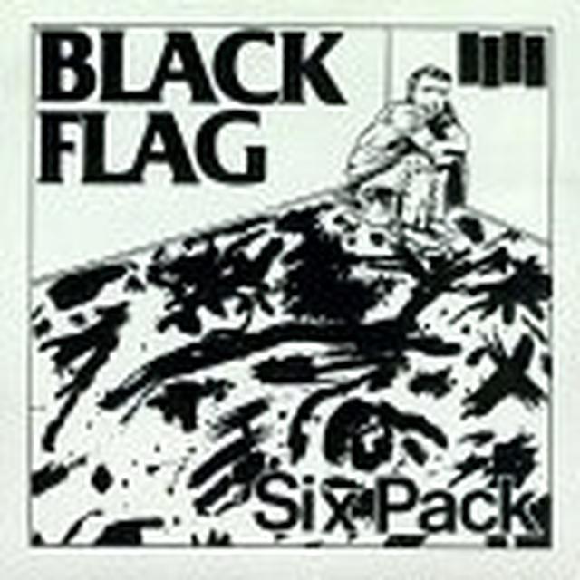Black Flag SIX PACK Vinyl Record