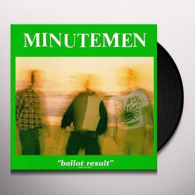 Minutemen BALLOT RESULTS Vinyl Record