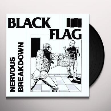 "Black Flag NERVOUS BREAKDOWN (10"") Vinyl Record"
