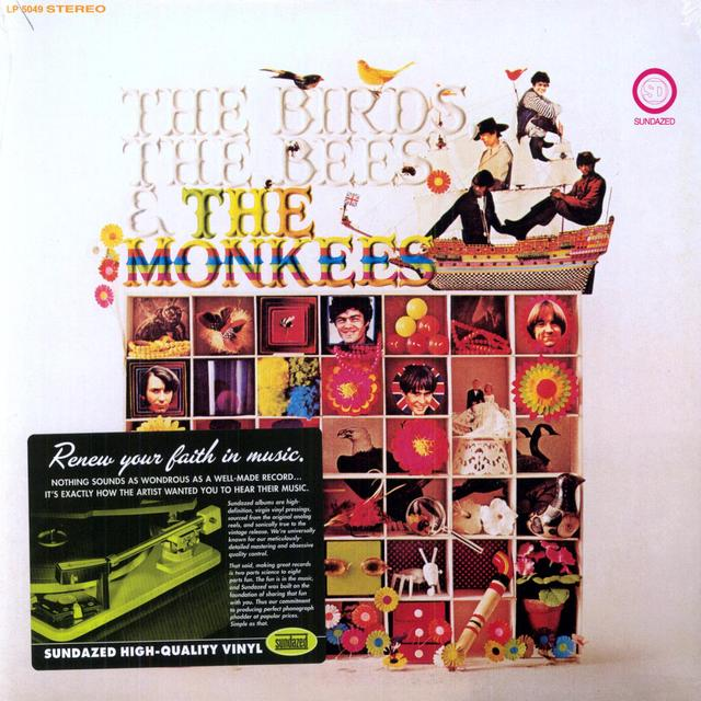 BIRDS BEES & MONKEES Vinyl Record