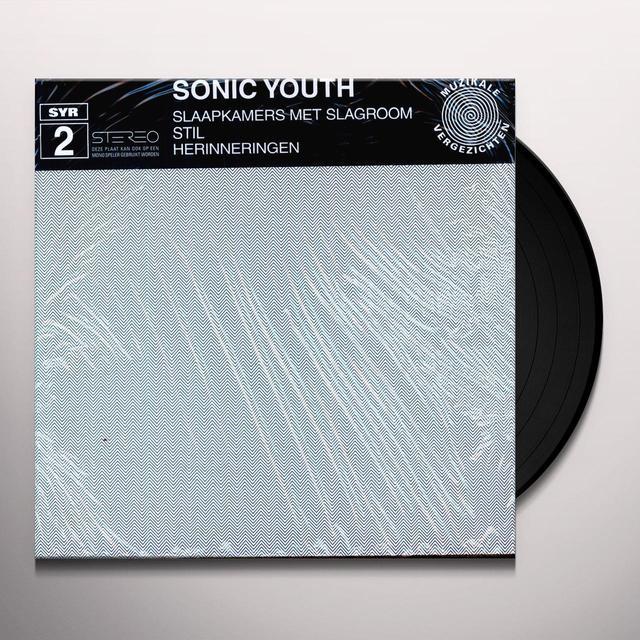 Sonic Youth SLAAPKAMERS Vinyl Record