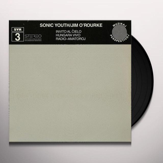Jim Sonic Youth / O'Rourke INVITO AL CIELO (EP) Vinyl Record
