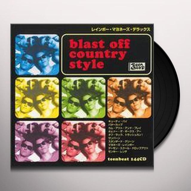 Blast Off Country RAINBOW MAYONNAISE DELUXE Vinyl Record