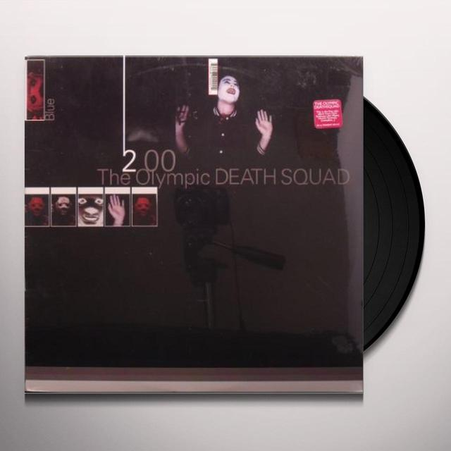Olympic Death Squad BLUE Vinyl Record