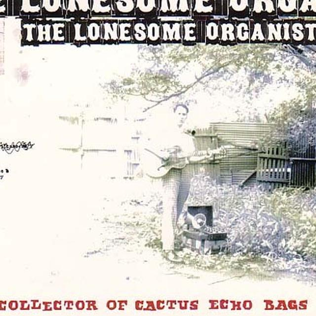 Lonesome Organist COLLECTOR OF CACTUS ECHO BAG (W/ FLIP BOOK) Vinyl Record