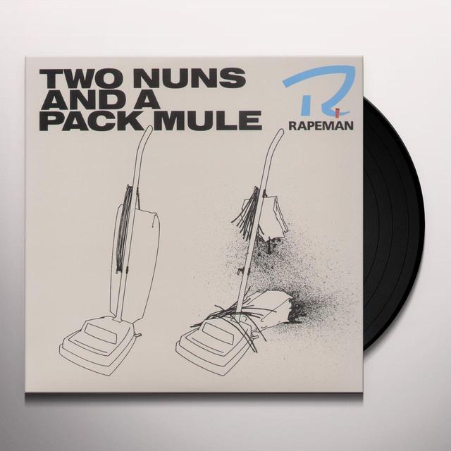 Rapeman TWO NUNS & A PACK MULE Vinyl Record