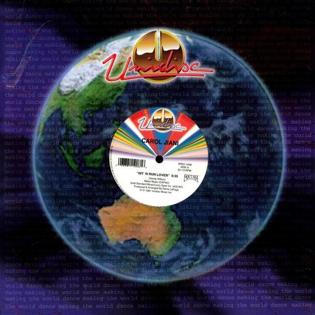 Carol Jiani HIT N RUN LOVER Vinyl Record