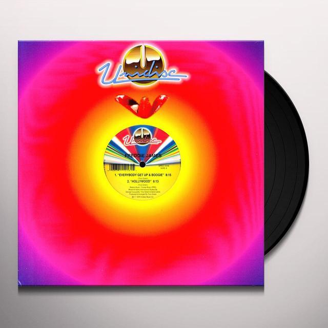 Freddie James & Melody Stewart EVERYBODY GET UP & BOOGIE Vinyl Record