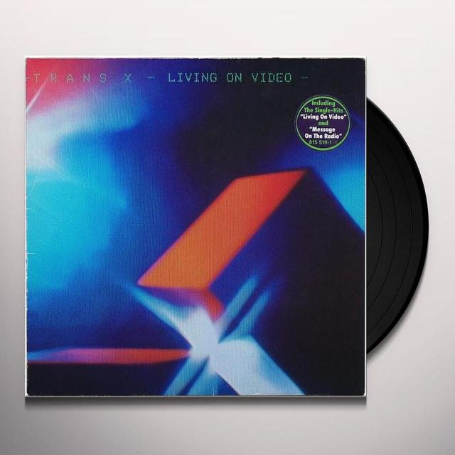 Trans-X LIVING ON VIDEO Vinyl Record