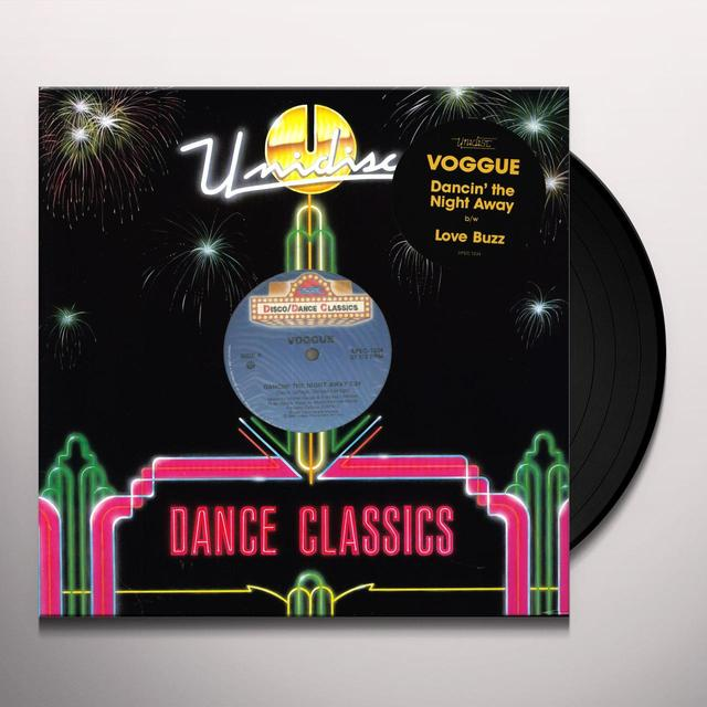 Voggue DANCIN THE NIGHT AWAY Vinyl Record - Canada Import
