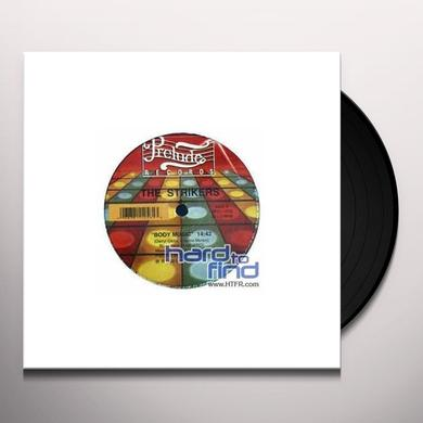 Strikers INCH BY INCH Vinyl Record - Canada Import