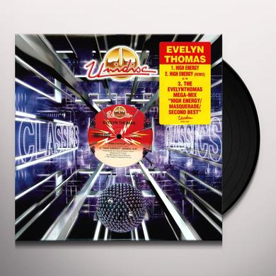 Evelyn Thomas HIGH ENERGY Vinyl Record