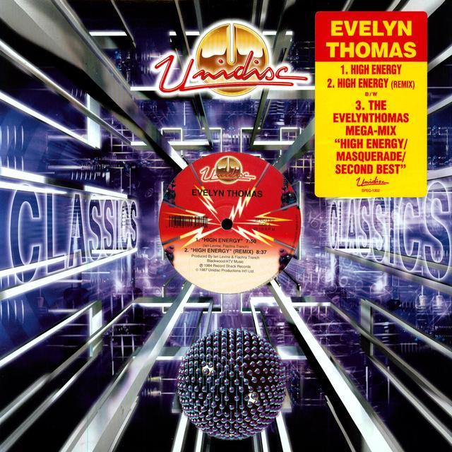 Evelyn Thomas HIGH ENERGY Vinyl Record - Canada Import