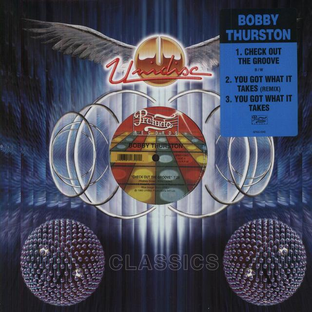Bobby Thurston CHECK OUT THE GROOVE Vinyl Record - Canada Import