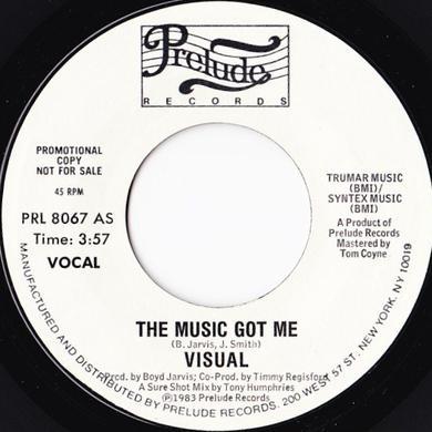Visual MUSIC GOT ME Vinyl Record