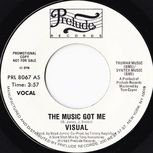 Visual MUSIC GOT ME Vinyl Record - Canada Import