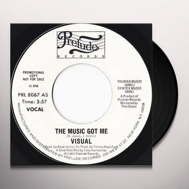Visual MUSIC GOT ME Vinyl Record - Canada Import